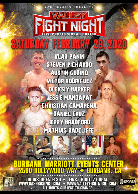 Valley Boxing Poster