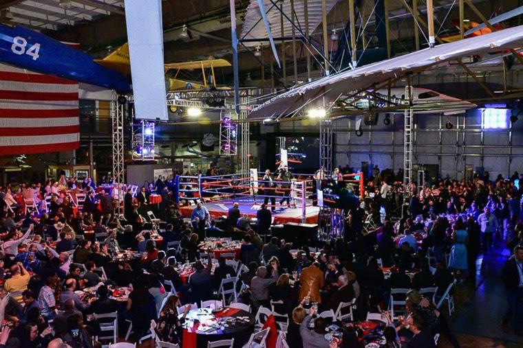 Ring Of Hope boxing ring