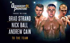 Andrew Cain Brad Strand Nick Ball