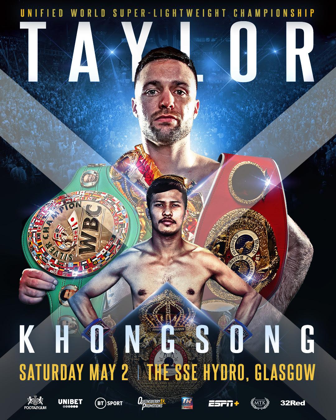 Josh Taylor vs. Apinun Khongsong