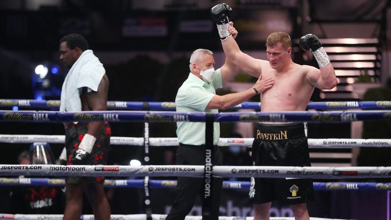 Alexander Povetkin brutally knocks out Dillian Whyte in round five