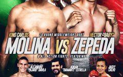 Carlos Molina vs Zepeda