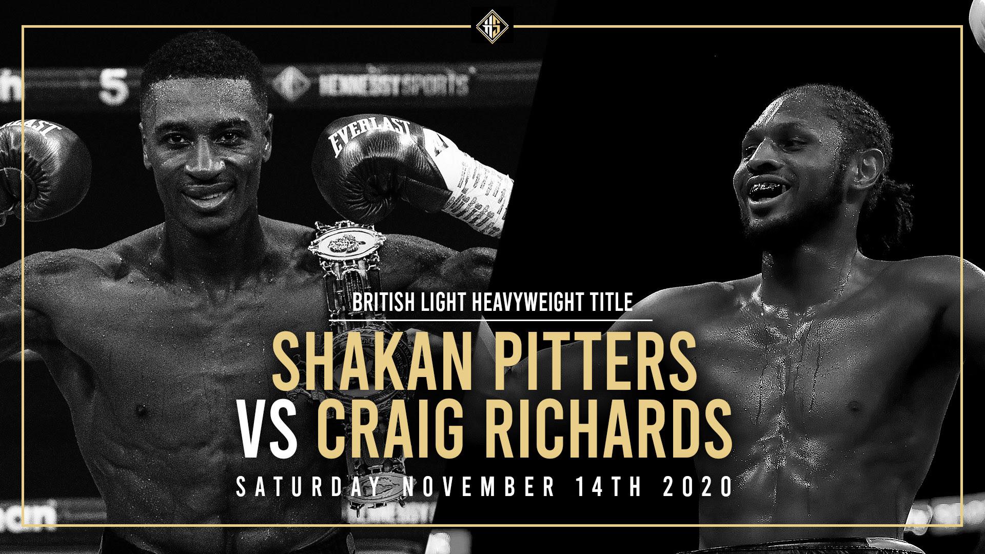 Shakan Pitters vs Shakan Pitters