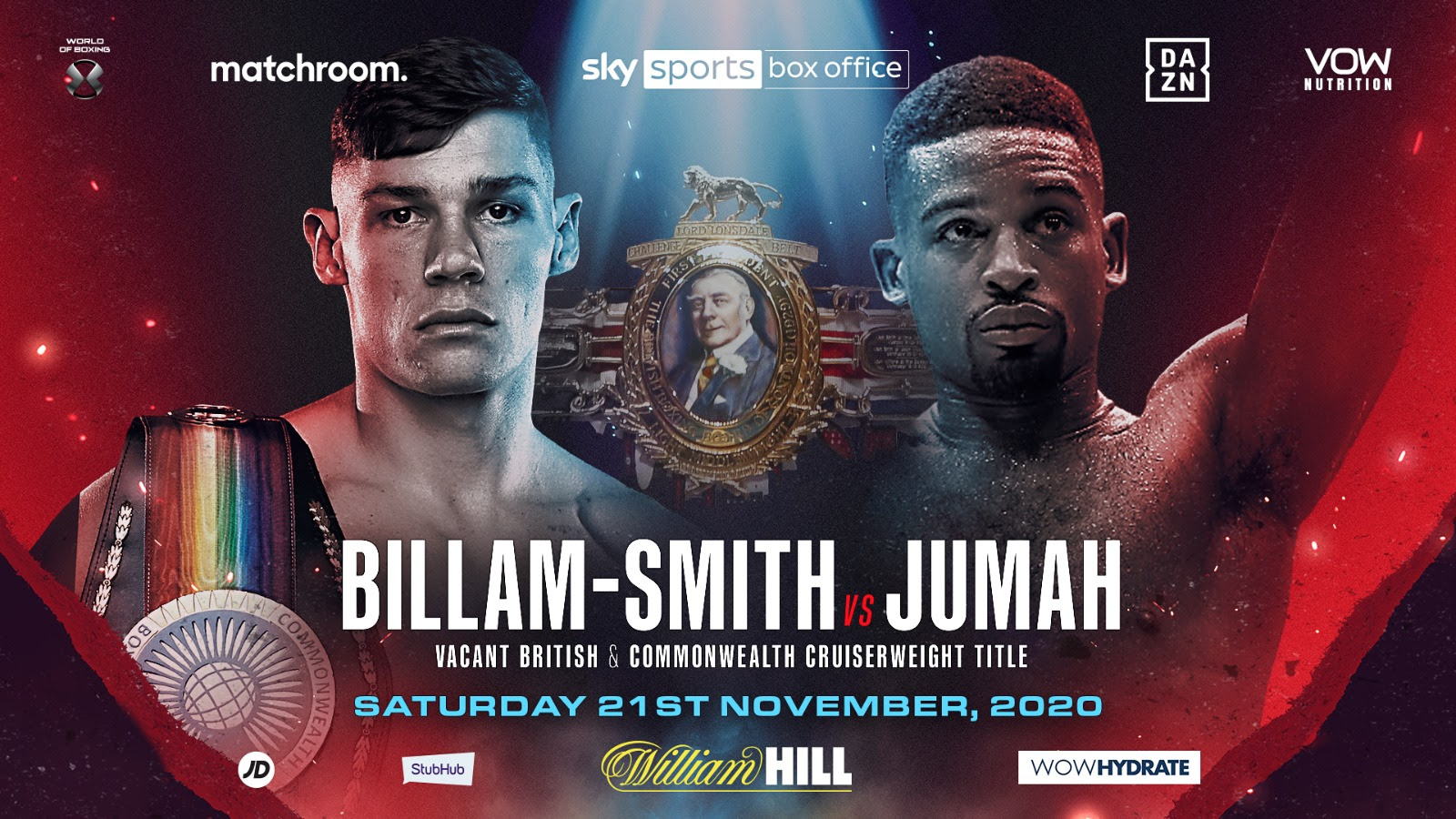 Chris Billam-Smith will take on Deion Jumah